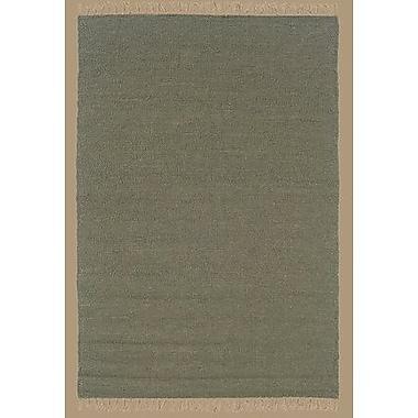 Bay Isle Home Landenberg Hand-Woven Green Area Rug; 5'3'' x 7'6''