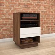 Brayden Studio Vicknair Wood Audio Cabinet