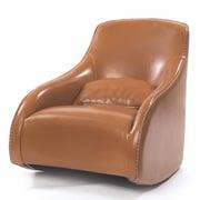 Brayden Studio Villanueva Baseball Glove Leather Arm Chair