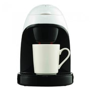 Brentwood Single Cup Coffee Maker; White