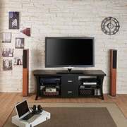 Brayden Studio Marini TV Stand; Black