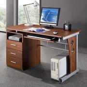 Brayden Studio Albany Computer Desk; Oak