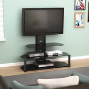 Brayden Studio Candler Flat Panel TV Stand w/ Intregrated Mount