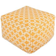 Brayden Studio Danko Bean Bag Ottoman; Yellow