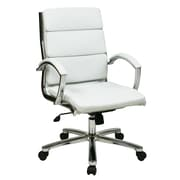 Brayden Studio Dunarragan Executive Chair; White
