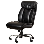Brayden Studio Burgess Desk Chair; Leather