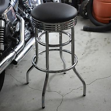 Brayden Studio Mcguire 30'' Swivel Bar Stool