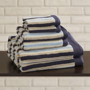 Brayden Studio Bath Towel 6 Piece Towel Set; Blue