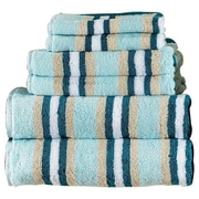 Brayden Studio Bath Towel 6 Piece Towel Set; Seafoam