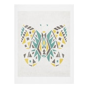 East Urban Home Tribal Butterfly Painting Print; 24'' H x 18'' W x 0.13'' D