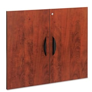 Red Barrel Studio Belle 26'' Standard Bookcase; Medium Cherry