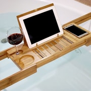 Welland Industries LLC Bamboo Bathtub Caddy