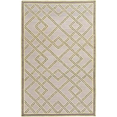 Brayden Studio Mare Hand Woven Gray Area Rug; 8' x 10'