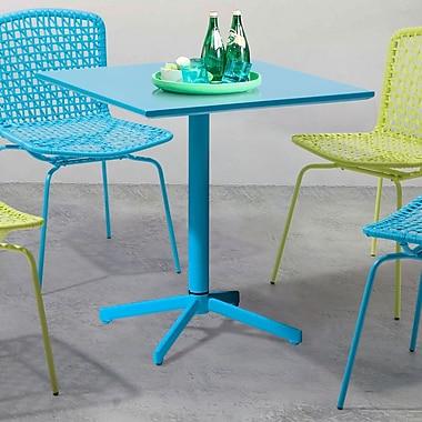 Brayden Studio Denpasar Bistro Table; Aqua
