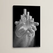 Brayden Studio Urban Offering Graphic Art on Wrapped Canvas