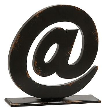 Brayden Studio Spectacular Letter Block Sculpture