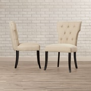 Brayden Studio Murchison Parsons Chair (Set of 2)