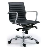 Brayden Studio Mangino Desk Chair (Set of 2); Black