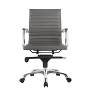 Brayden Studio Mangino Desk Chair (Set of 2); Gray