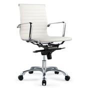 Brayden Studio Mangino Desk Chair (Set of 2); White