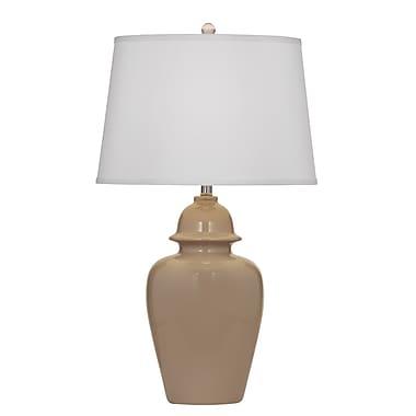 Brayden Studio Spiers 31'' Table Lamp; Taupe