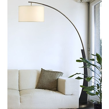 Brayden Studio Sawicki 60'' Arched Floor Lamp