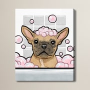 Brayden Studio 'Bubbly Personality' Graphic Art on Wrapped Canvas; 20'' H x 16'' W x 1.5'' D