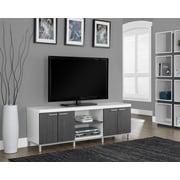 Brayden Studio Orrell TV Stand; White/Gray