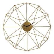 Brayden Studio 24'' Angular Wirework Wall Clock