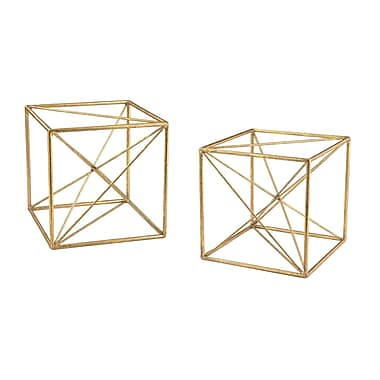 Brayden Studio Angular Study Decor (Set of 2)