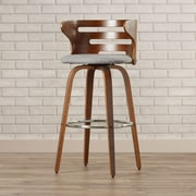 Brayden Studio Lucey 29'' Swivel Bar Stool