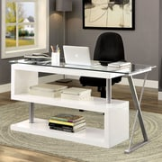 Brayden Studio Folden Writing Desk; White