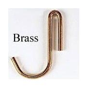 Brayden Studio Collection Pot Hooks (4 Hooks); Brass-plated