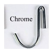 Brayden Studio Collection Pot Hooks (4 Hooks); Chrome-plated