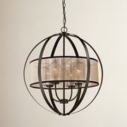Brayden Studio Dailey 4-Light Foyer Pendant; 100W Incandescent