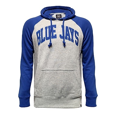 Toronto Blue Jays Raglan Fleece Sport Hoodie, Medium
