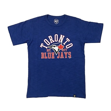 Toronto Blue Jays Youth Crosstown 47 Scrum Tee, Large