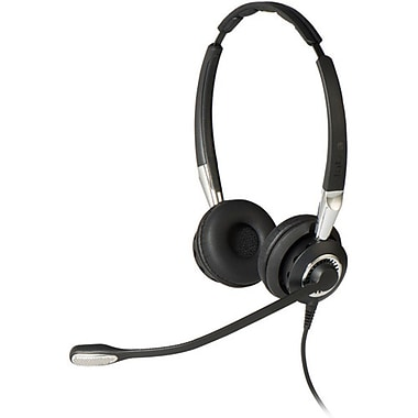 Jabra BIZ 2400 II Duo Bluetooth Enabled USB Headset, Optimized for Microsoft Skype for Business