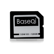"BaseQi Ninja Stealth Drive for MacBook Air 13"", 128 GB (ISDM103MSV)"
