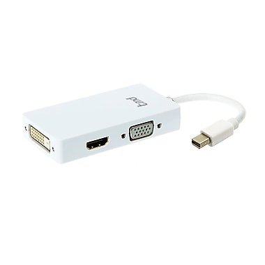 tmd Mini DisplayPort to HDMI/VGA/DVI Adapter (AD4L-01WH)