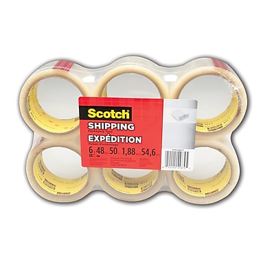 Scotch® General Purpose Shipping Tape, 6/Pack
