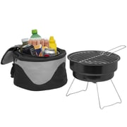 The Big Backyard Portable Barbecue Grill & Cooler Bag Combo Carry Case