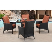 Brayden Studio Billington 5 Piece Dining Set w/ Cushions