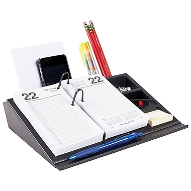 AT-A-GLANCE® Desk Calendar Base & Organizer