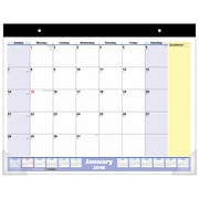 "2018 AT-A-GLANCE® Monthly Desk Pad Calendar, QuickNotes, January 2018 - January 2019, 22"" x 17"" (SK700-00-18)"