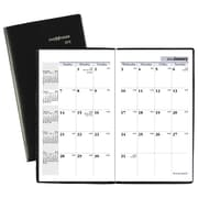 "2018 AT-A-GLANCE® DayMinder® Monthly Pocket Planner, 3-5/8"" x 6-1/16"", Black (SK53-00-18)"