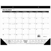 "2018 AT-A-GLANCE® Monthly Desk Pad Calendar, January 2018-December 2018, 22""x17"" (SK24-00-18)"