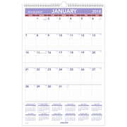 "2018 AT-A-GLANCE® Monthly Wall Calendar, Erasable, January 2018 - December 2018, 15-1/2"" x 22-3/4"" (PMLM03-28-18)"