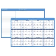 "2018 AT-A-GLANCE® Horizontal Wall Calendar, Reversible for Planning Space, Erasable, 36"" x 24"" (PM200-28-18)"