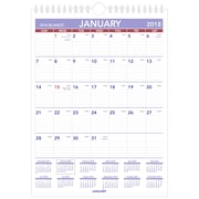 "2018 AT-A-GLANCE® Monthly Wall Calendar, January 2018-December 2018, 8""x11"", Mini Size, Wirebound (PM1-28-18)"